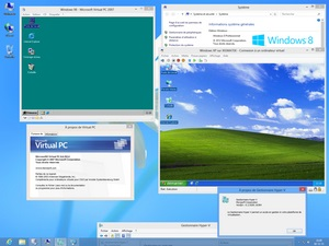 Windows 8.1 virtual pc